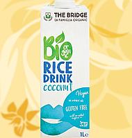 Напій рисовий, Bio Rice Drink, з кокосом, 1л, Фо