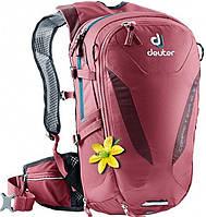 Рюкзак велосипедный DEUTER EXP, 32001155527, 10 л, SL, бордовый