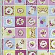 Декоративна тканина для штор, квітковий принт, фото 2
