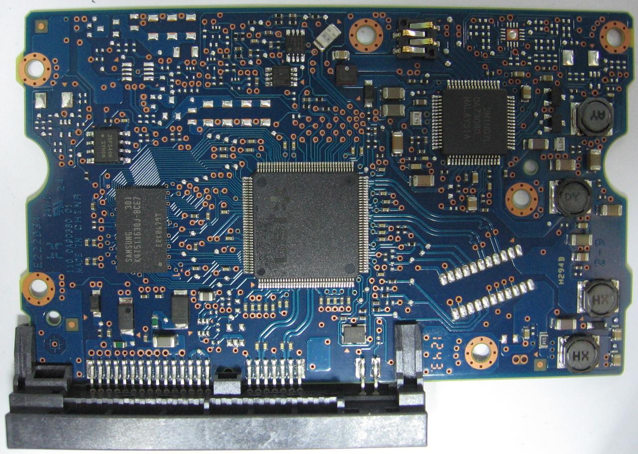 Плата HDD 3TB 7200rpm 64MB SATA III 3.5 Toshiba DT01ACA300 0A90380