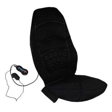 🔝 Накидка массажер в машину, на сиденье, JB-100C, с подогревом, 5 в 1 | 🎁%🚚
