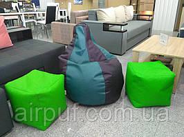 Кресло-кубик (материал эко-кожа Зевс), размер 50*50 см