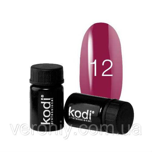 Kodi гель краска 12 (яркий бордовый с шиммером)