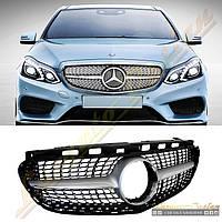 Решетка радиатора Diamond для Mercedes E W212