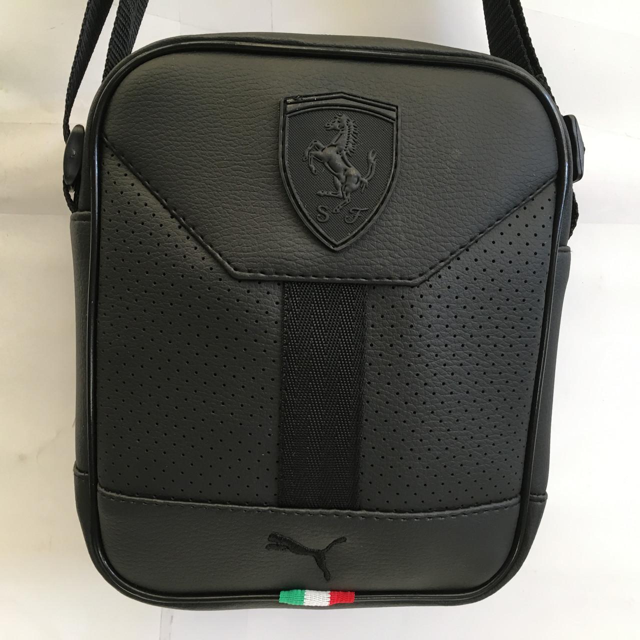 3144768a720c Спортивная молодежная сумка через плечо Puma ferrari оптом : продажа ...