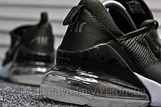 Кроссовки мужские зеленые Nike Air Max 270 Army Green (реплика), фото 3