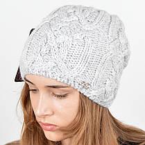 """Вязаная женская шапка """"Naomi"""", фото 3"""