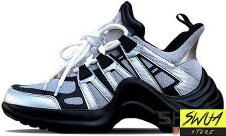 6965b5247661 Женские кроссовки Louis Vuitton SS18 Black Grey  продажа, цена в ...