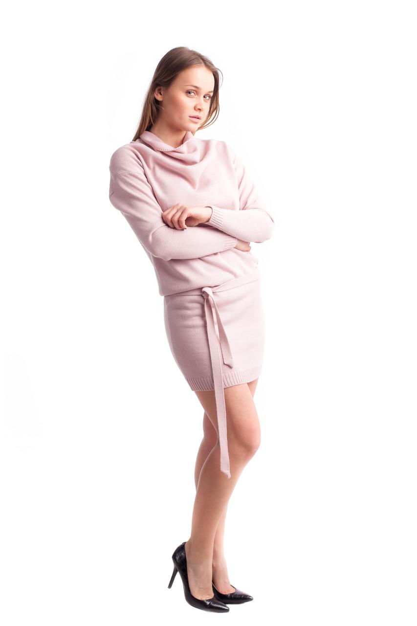 27adb06f1773 Короткое вязаное платье 7цветов (42-44, 46-48 размеры), цена 580 грн.,  купить в Харькове — Prom.ua (ID#759387792)