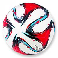 Футбольный мяч Torfabrik белый склеенный 5