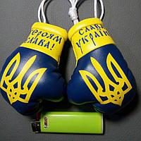 Перчатки с гербом Украины боксерские в машину
