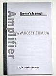 Автомобильный усилитель 4-канальный - UKC Riot R-1008M 4CH 4000 W, фото 2