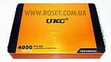 Автомобільний підсилювач 4-канальний - UKC Riot R-1008M 4CH 4000 W, фото 4
