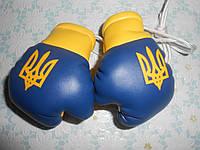 Сувенирные боксерские перчатки в машину на стекло сувенир брелок Украина 54