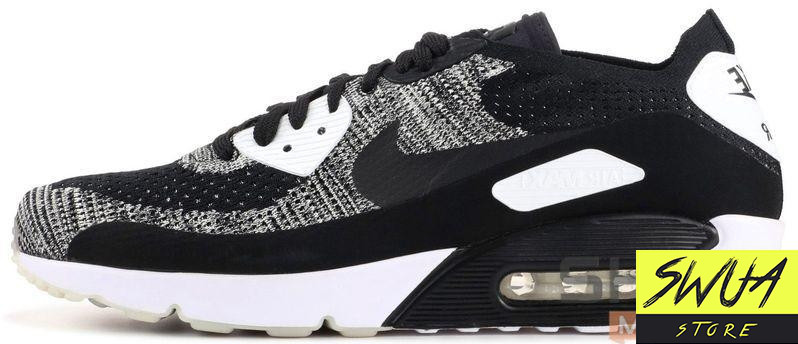 low priced 76903 6ca74 Мужские кроссовки Nike Air Max 90 Ultra 2.0 Flyknit Oreo
