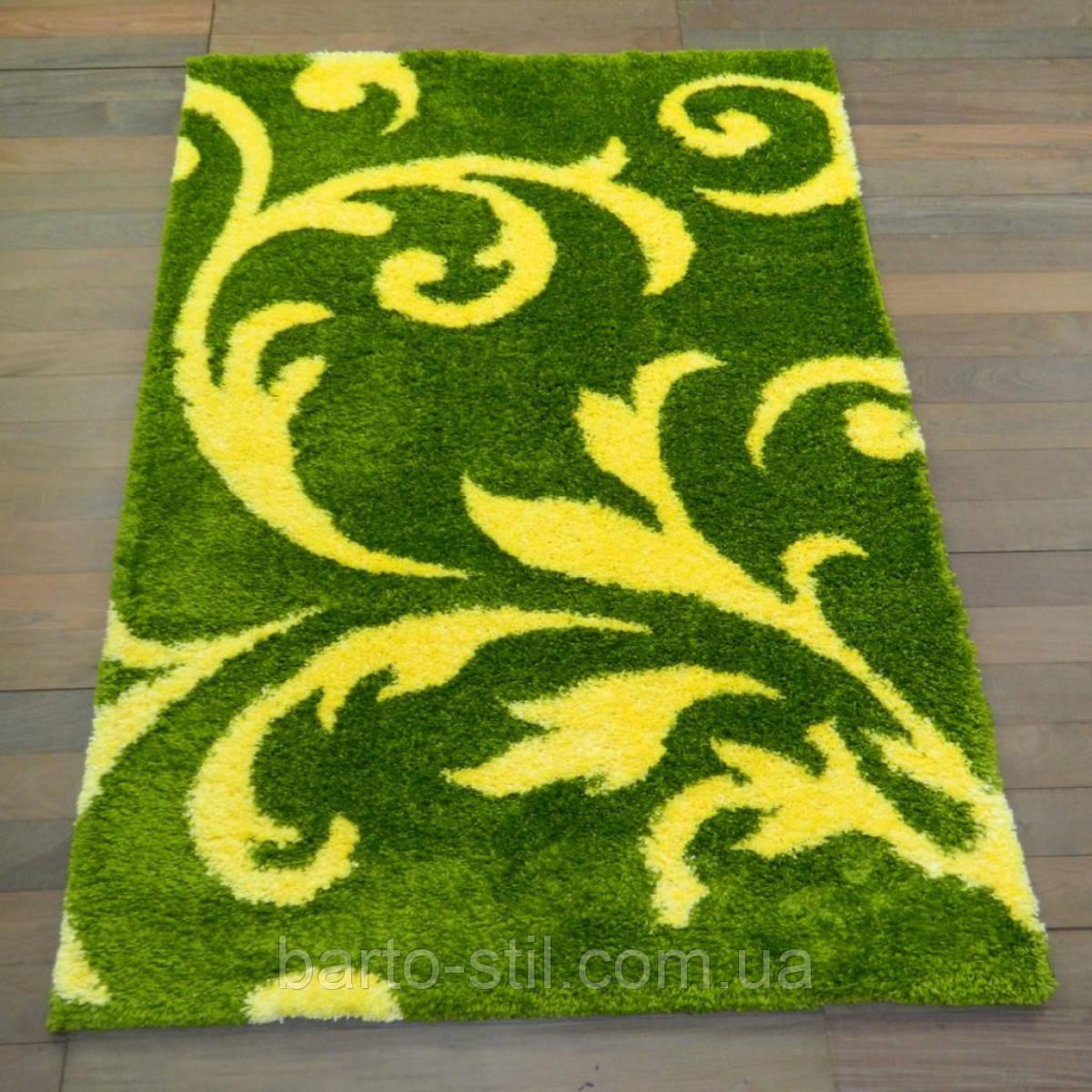 Коврик Fantasy зеленый с желтой веткой 2.00х3.00 м.