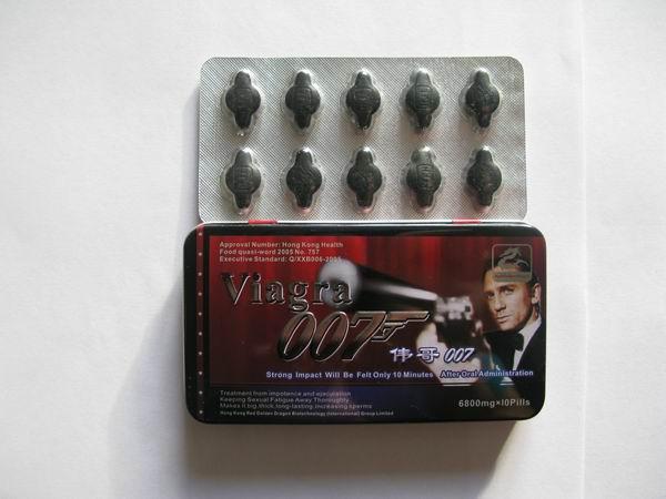 Виагра Агент 007