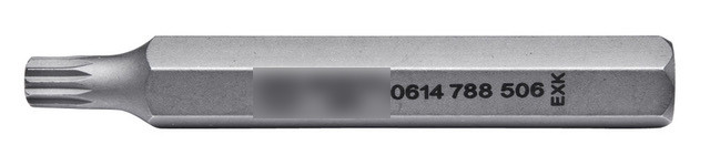 Бита XZN ,10 мм, длинна 75 мм Wurth