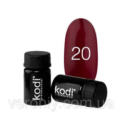 Kodi гель краска 20 (спелая вишня)