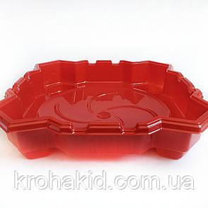 Арена для BeyBlade с ловушками 40 см (красная), фото 2