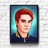 Постер с рамкой Riverdale #2