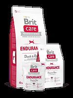 Сухой корм Brit Care Endurance Duck & Rice для активных собак, 1 кг