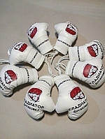 Сувенирные боксерские перчатки под заказ в боксерский клуб