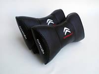 Подушка-бабочка с логотипом автомобиля Сitroёn черные