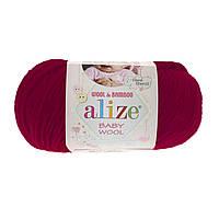 Alize Baby wool  - 390 вишня