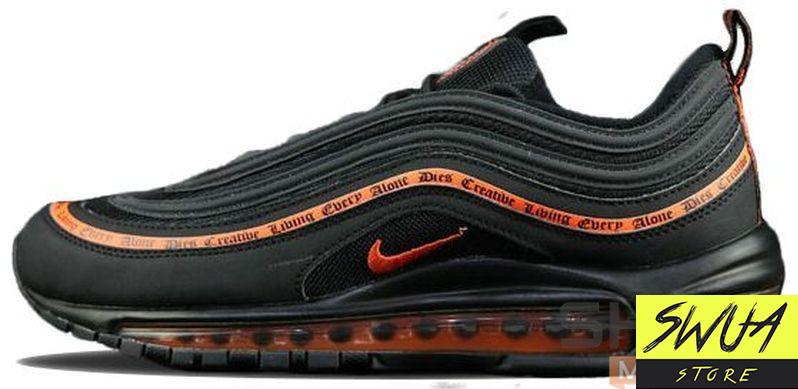 size 40 037cf 9dec6 Мужские кроссовки Nike Air Max 97 X Vlone OG Black/Orange
