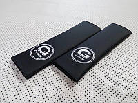 Подушки накладки на ремень безопасности BMW G-Power в авто черные