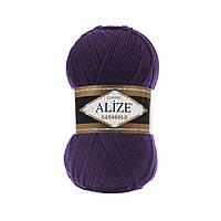 Alize Lana gold  - 388 фиолетовый