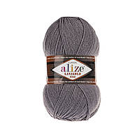 Alize Lanagold fine - 348 темно серый