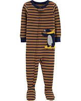 Хлопковый слип пижама для мальчика Carters, 3Т