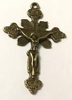 Крест с распятием и декором