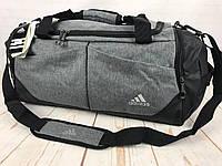 Красивая спортивная сумка Adidas. Сумка для тренировок , в спортзал. Дорожная сумка. КСС24