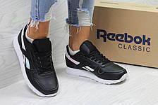 Женские кроссовки Reebok since 1983,черные с серебром 40р, фото 2