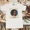 Gucci футболка белая | Бирка (реплика)
