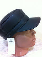 Мужская коричневая и чёрная немка из  натуральной кожи 59 60