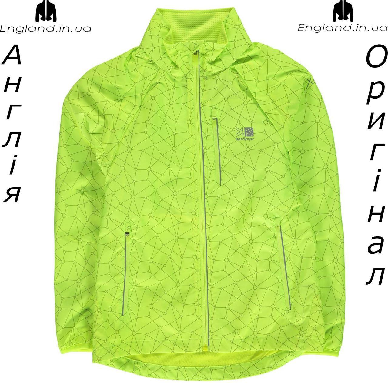 Куртка Karrimor из Англии для мальчиков 2-14 лет - X Convertible беговая жёлтая