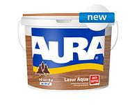 Aura Lasur Aqua 0,07 л, кипарис - Декоративно-защитное средство для деревянных поверхностей с антисептиком