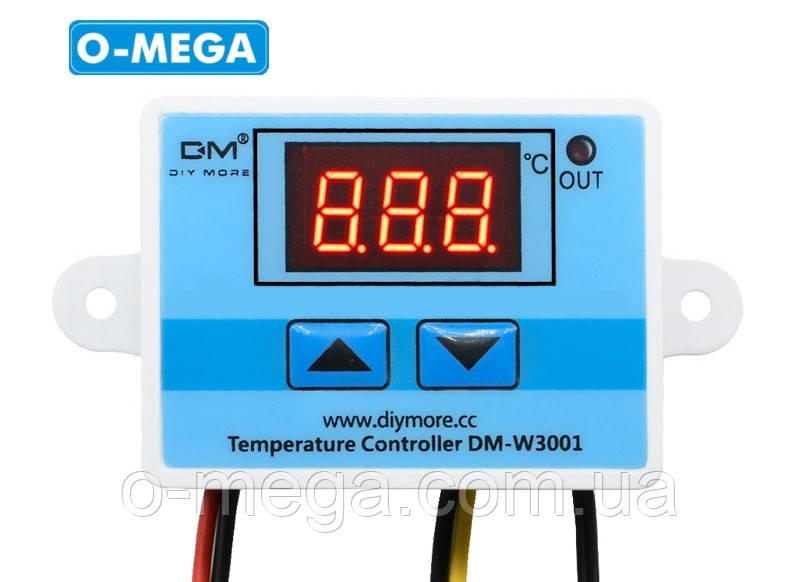 Терморегулятор цифровой DM-W3001 220В (-50...+110) с порогом включения в 0.1 градус
