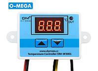 Терморегулятор цифровой DM-W3001 220В (-50...+110) с порогом включения в 0.1 градус, фото 1