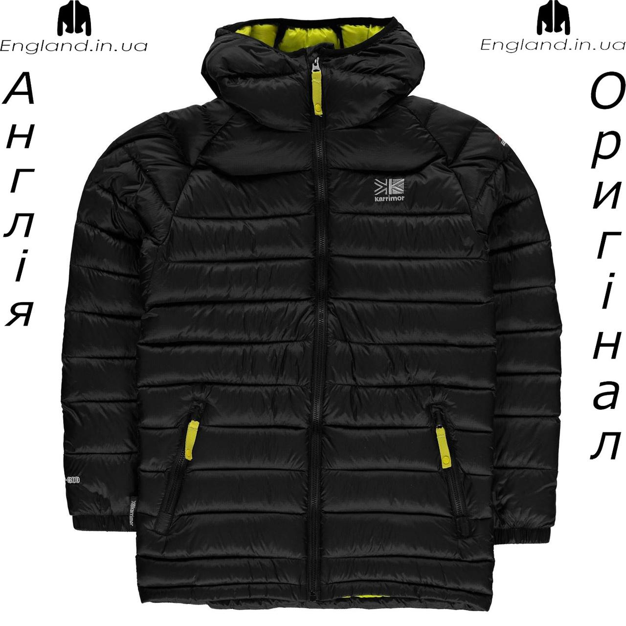 Куртка Karrimor из Англии для мальчиков 2-14 лет - черная осенняя