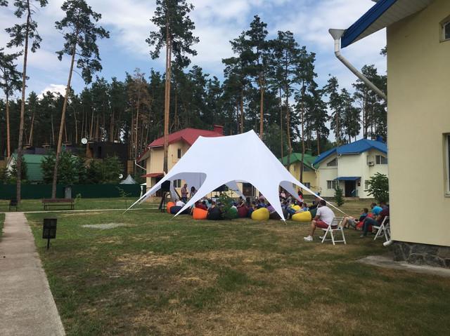 Палатка на 50 человек