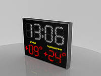 """Светодиодные часы/термометр """"Eco Complex"""" (Код изделия ЧТ 002)"""