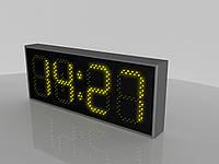 """Светодиодные часы/термометр """"Optima lite"""" (Код изделия ЧT 006)"""