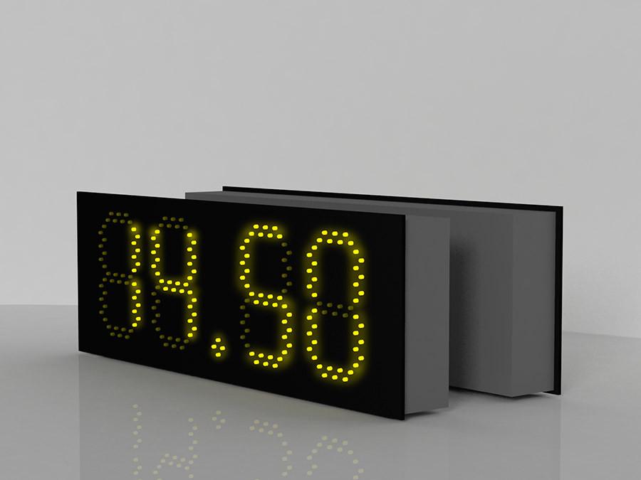 """Комплект светодиодных табло для агзс  """"NEW TAB GAS 3"""""""