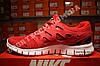 Кроссовки Nike Free Run 2.0 Red Красные мужские, фото 3