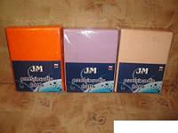Простирадло махрова на резинці полуторного розміру 180х240 см на матрац 140х200 см